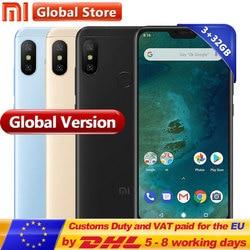 Global Version Xiaomi Mi A2 Lite 32GB ROM Moblie Phone 3GB RAM Dual Camera Snapdragon 625 Octa Core 5.84