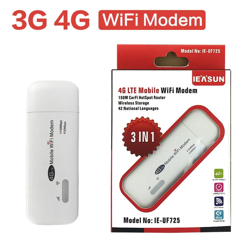 3G 4G LTE FDD TDD Wireless Router 4G Wifi Router Modem With SIM Card Slot Signal Booster 150M USB Mini Portable Mobile Router