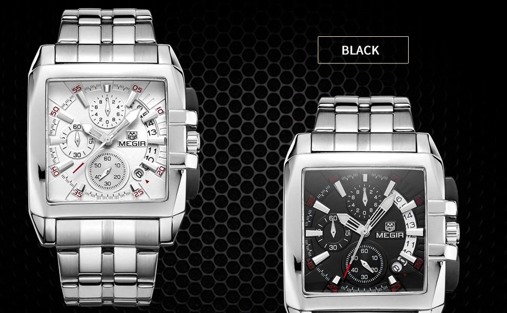 2018-En_03  MEGIR Males's Large Dial Luxurious Prime Model Quartz Wristwatches Artistic Enterprise Stainless Metal Sports activities Watches Males Relogio Masculino HTB1Ee01kQUmBKNjSZFOq6yb2XXao