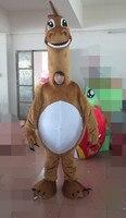 Большой головой коричневый Дракон маскарадный костюм Горячая Распродажа Костюмы Животных