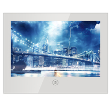 hot deal buy souria 10.6 inch mirror glass usb tv bathroom ip66 waterproof led television luxury small screen hotel