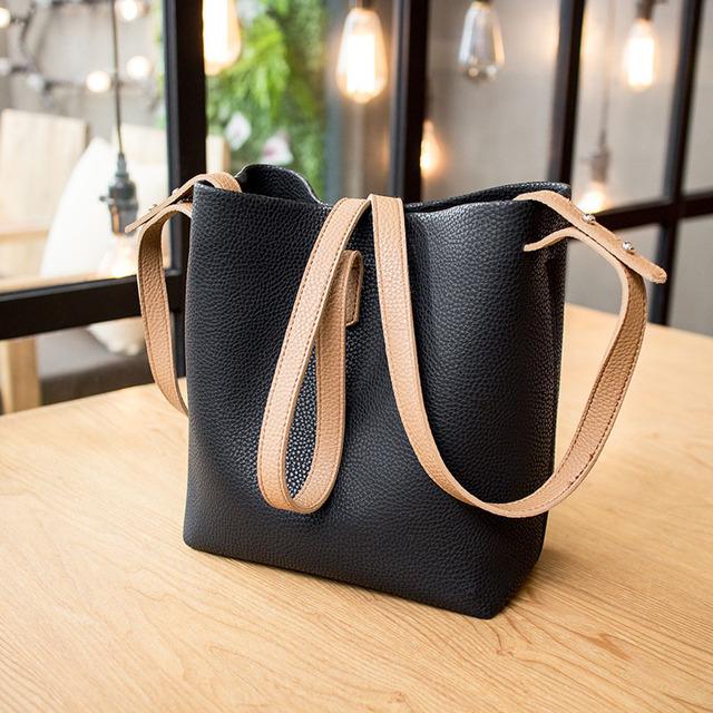 Shoulder Bag Ladies Bucket Bag Composite Bag Portable Fashion Casual Totes for Fashion Lady College Girl Design Messengers Bag