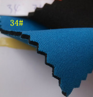 blue nylon fabric coated SBR rubber Neoprene Fabrics 2.5MM thickness