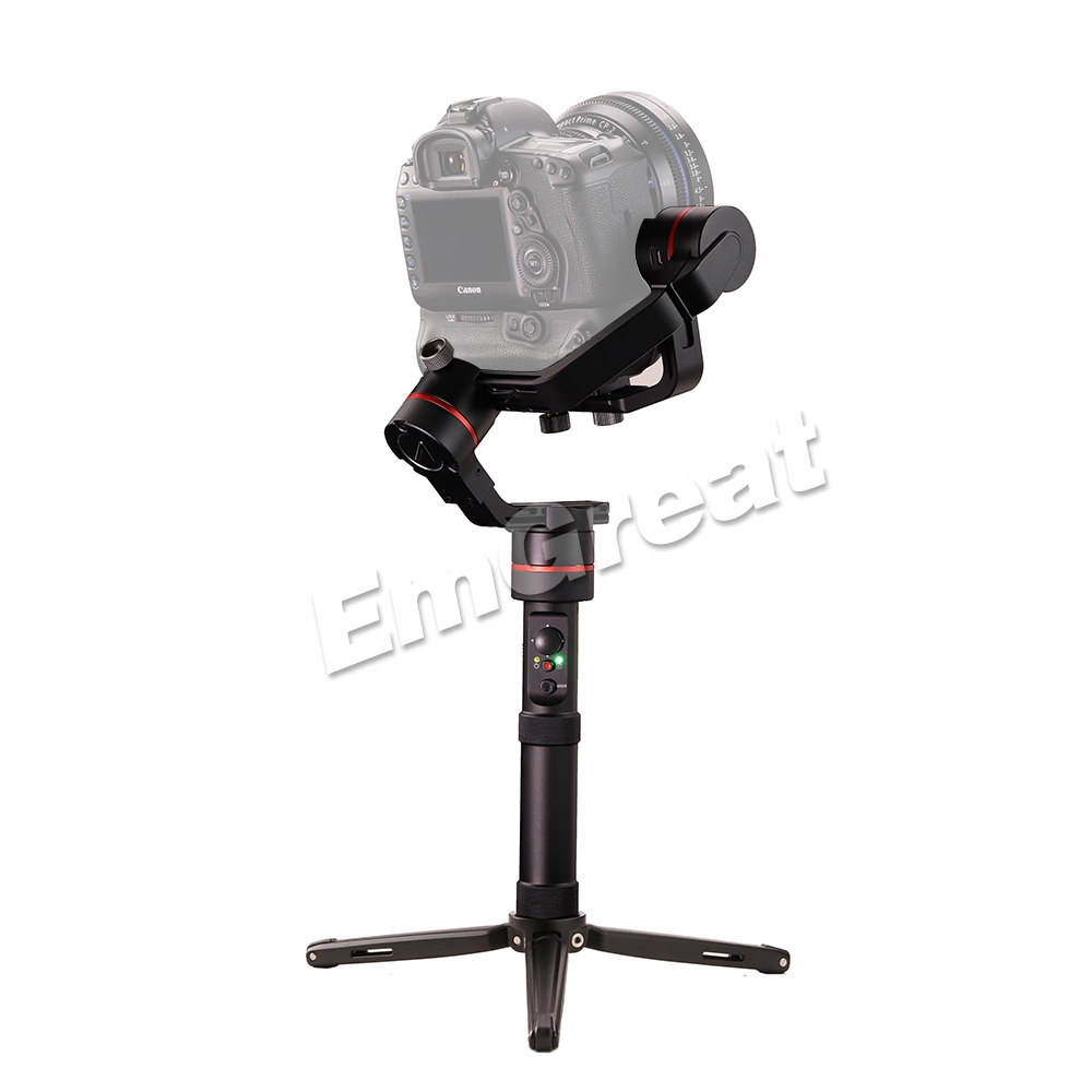 Accsoon A1-S 3-Axis Handheld Gimbal Stabilizer 3 6Kg Payload Full Visual  without Cover for Mirrorless/DSLR with Dual Handle Grip