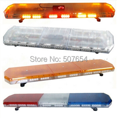 120cm 88W Led emergency lightbar,warning light bar for police ambulance fire truck with controller,waterproof
