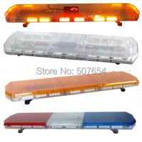 Higher star 120cm 88W Led emergency lightbar,warning lightbar for police ambulance fire truck with controller,waterproof