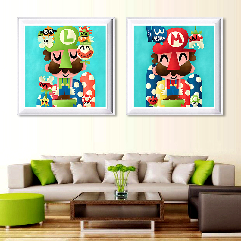 Super Smash Bros Canvas Print Home Decor Art Enfants Chambre A Coucher
