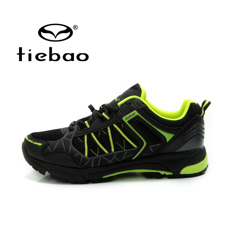 Tiebao Cycling Shoes for Men Mountain Bike Shoes Ultralight Bicycle Shoes Breathable Self-locking Shoes zapatillas ciclismo wholesale price 2pcs chrome steel bicycle ball bearing rubber sealed for bike cycling bicycle self lubricated with grease