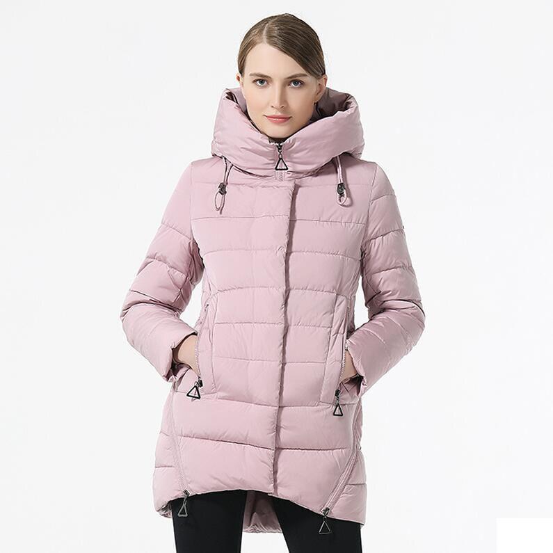2018 Brand Women Winter Jacket Casual Women Thickening Hooded Down   Parka   Women's Windproof Coat Bio Down Jacket for Women Coat
