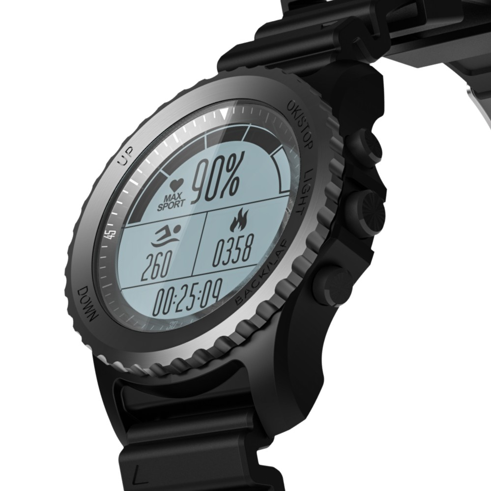 Smartch 2018 New Design S968 Mens Bluetooth Smart Watch Support GPS,Air Pressure,Call,Heart Rate,Sport Watch fitness tracker