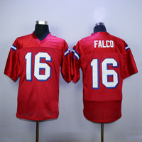 Keanu Reeves Shane Falco 16 Football Jersey Stitched Men The Replacements Movie Jerseys Red S 3XL