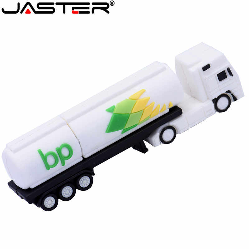 JASTER USB Flash Mini camión de memoria USB Pen Drive 4GB 8GB Flash 16GB 32GB memoria USB 2,0 a granel de 64GB