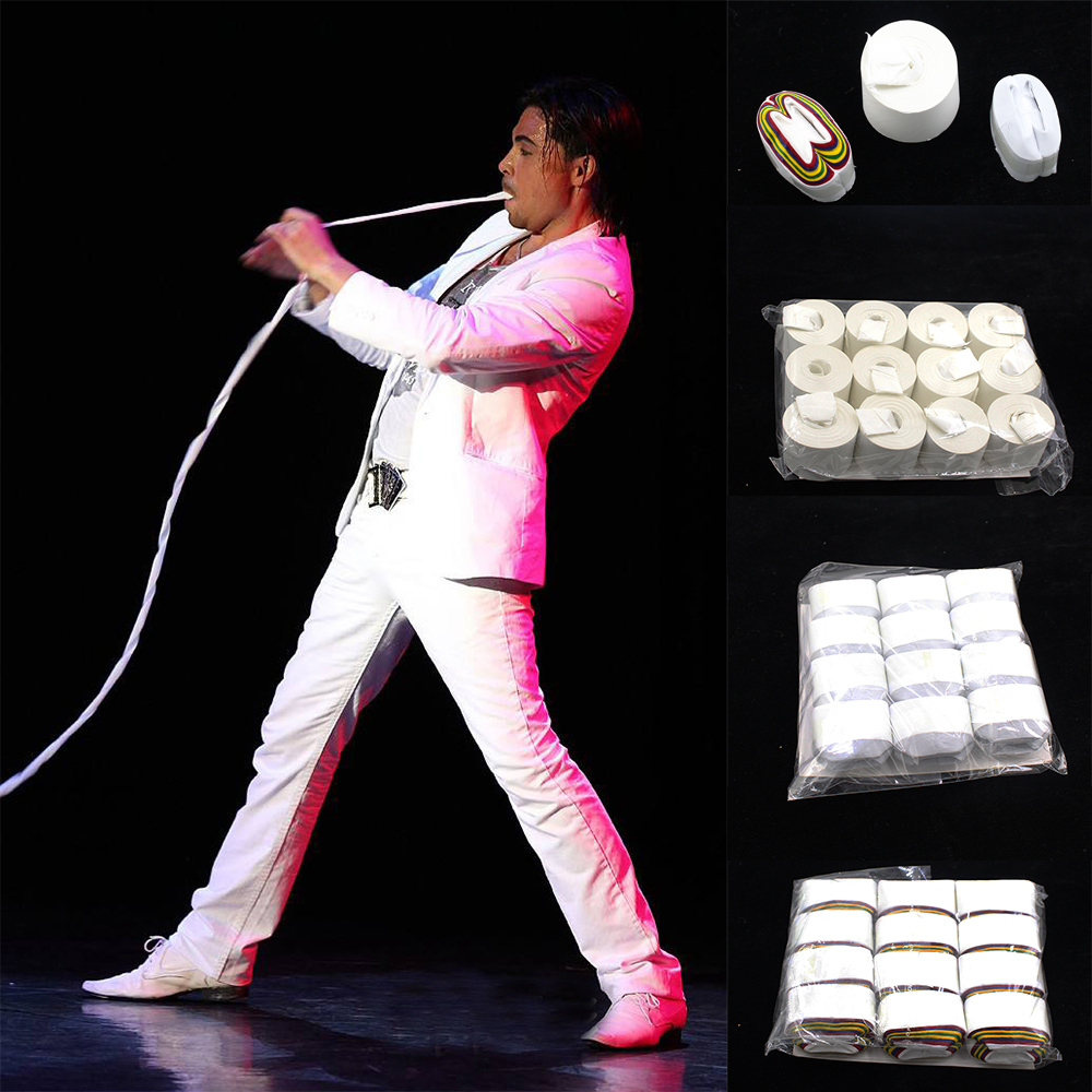 Baciti Streamer Usta zavojnica Stage Magic Tricks Props Igračke - Klasične igračke - Foto 2