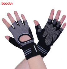 BOODUN Men Womens Gym Gloves Dumbbell Workout Sports Powerlifting Weightlifting Crossfit Body Building Fitness Equipment