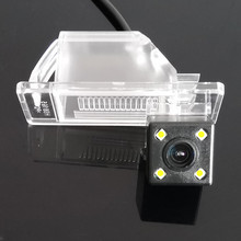 170 градусов Водонепроницаемый Ночное видение HD CCD автомобиля заднего вида резервного копирования Парковка Камера для Nissan Almera натуральная N16 N17 G11