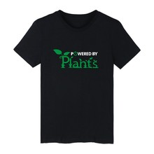 """""""Powered By Plants"""" Unisex Shirt / 4 colors"""