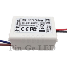 10PCS Constant Current LED Driver 1-2x3W 600mA 3-7V 3W 6W 3 6 W Watt External Lamp Light COB Power Supply Lighting Transformer цена