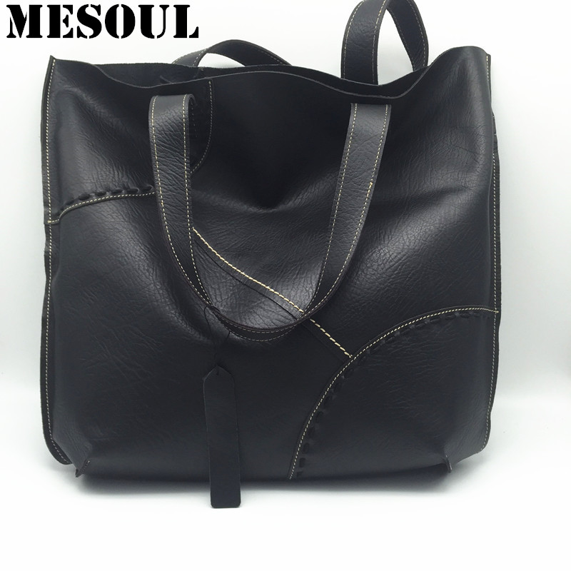 100% Genuine Leather Casual Tote Women Large Capacity Shopping Bag 2017 New Fashion Cow Leather Woman Handbags Big Shoulder Bag100% Genuine Leather Casual Tote Women Large Capacity Shopping Bag 2017 New Fashion Cow Leather Woman Handbags Big Shoulder Bag