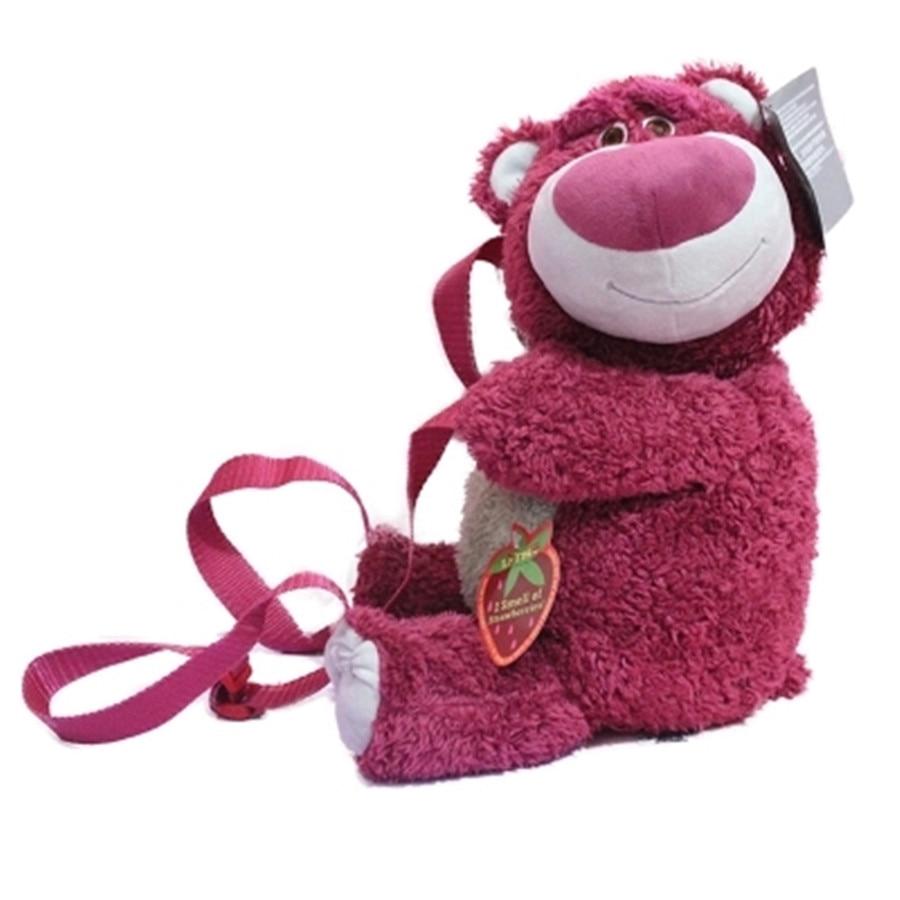 TOY STORY 3 LOTSO Bear Plush Backpack Baby Shoulder Bag  School Bag Cute Gift