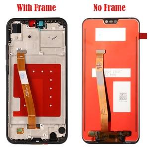 Image 2 - Màn hình Cho Huawei P20 Lite Màn Hình LCD Với Khung Trước MÀN HÌNH Hiển Thị LCD Bộ Số Hóa Cảm Ứng Thay Thế Cho Huawei P20 Lite màn hình LCD