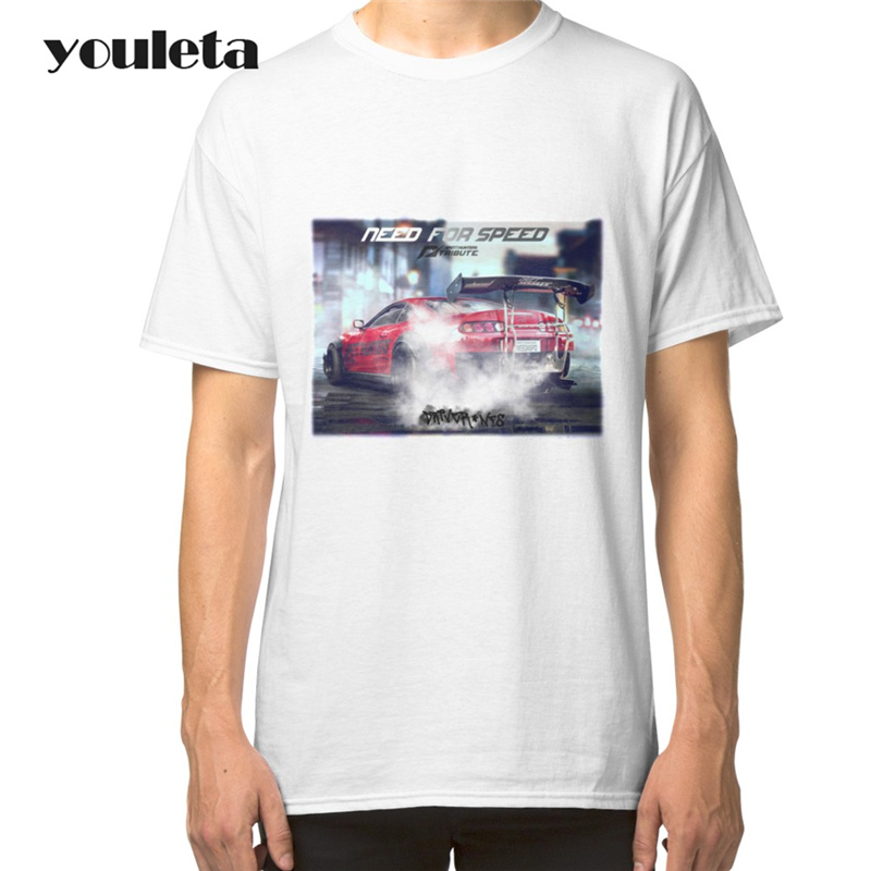2018 Chic High Quality T Shirt Men Need for Speed T-Shirt Men Brand Casual cotton Printed T Shirts Men's Clothing