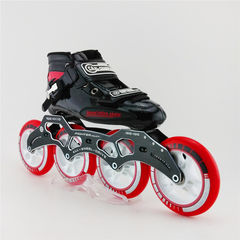 Adults Professional Roller Skates Speed Inline Skate Shoes Roller Speed Inline Skating Sport For Children Patins Roller professional adults inline speed skates shoes heelys roller skate carl speed skate patins roller skate