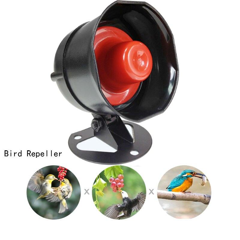 Безвредные звук отпугиватель птиц для вождения Управление Лер вредителями отклонить Управление Сад Двор Горячие гуманным защитный