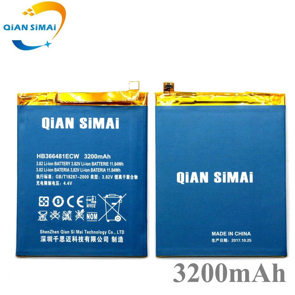QiAN SiMAi Honra 8 Lite 3200 mAh Bateria de Substituição Para Huawei Honra P10 Lite 8 Lite telefone Frete Grátis + Código de rastreamento