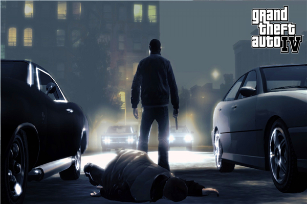 Custom Canvas Art Grand Theft Auto Poster GTA 4 San Andreas Game Wallpaper Grand Theft Wall Stickers Mural Home Decoration #759#