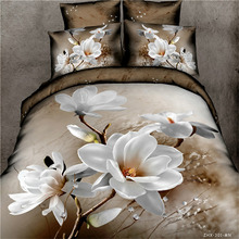3D bedding set sunflower conch jackon duvet cover