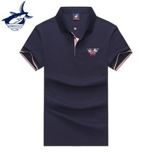 New Arrival 2019 Summer mens clothing Tace & Shark t shirt men high quality embroidery men t shirt business tee shirt homme