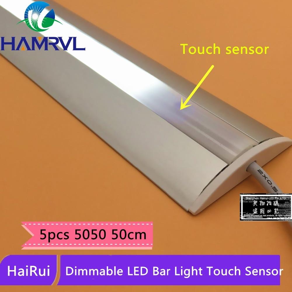 5 pz di controllo tattile rigida striscia luminosa alta cucina illuminazione interna ha condotto la luce