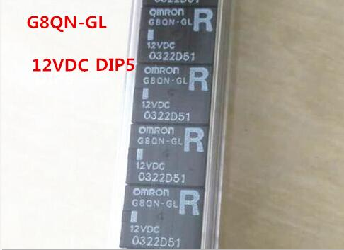 HOT NEW relay G8QN-GL 12VDC G8QN-GL-12VDC G8QNGL 12VDC DC12V DIP5 5PCS/LOT-10PCS/LOT hot new relay g8qe 1a 12vdc g8qe 1a 12vdc g8qe1a 12vdc dc12v 12v dip6 5pcs lot