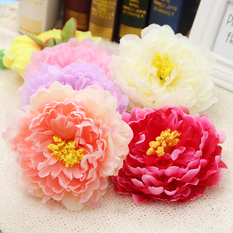 Free shipping 20pcslot 15cm big flowers peony head artificial free shipping 20pcslot 15cm big flowers peony head artificial silk flower heads craft wedding home party decoration mightylinksfo