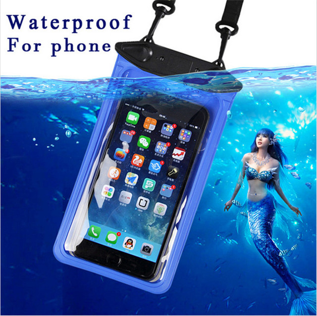 new styles decff a14f6 US $3.54 11% OFF|Universal IPX8 Waterproof Underwater Pouch Bag For Huawei  Honor 6X Case GR5 2017 Mate 9 Lite Asus Zenfone 3 Max ZC520TL-in Phone ...
