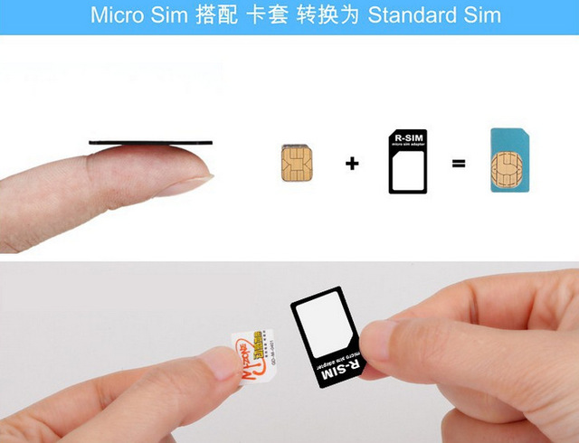 2016  Nano SIM Card Adapter 4 in 1 micro sim adapter with Eject Pin Key Retail Package for iPhone 5/5S/6/6S/Samsung