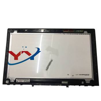15.6'' UHD 4K  LCD Touch Screen Digitizer+Bezel Laptop Assembly For Lenovo Y50-70 3840*2160