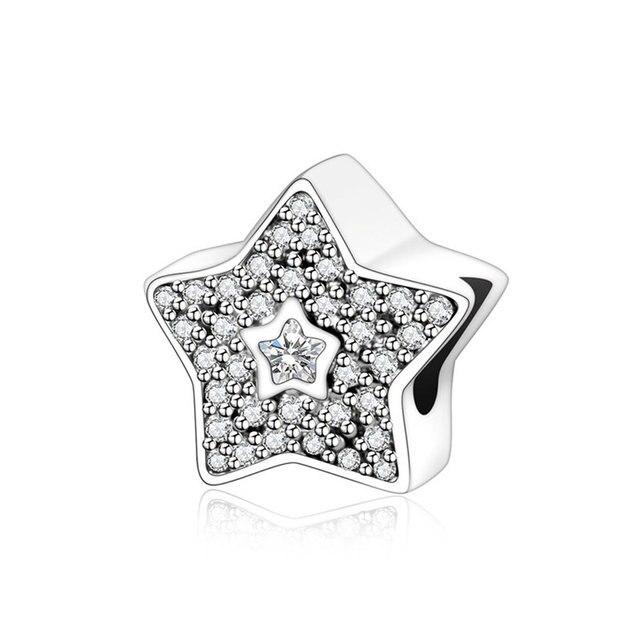pandora charm star cubic zirconia