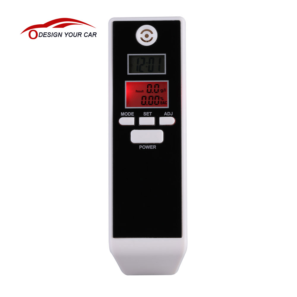 PFT-661S LCD Digital Breathalyzer Alcohol Tester Gadget Professional Breath Parking