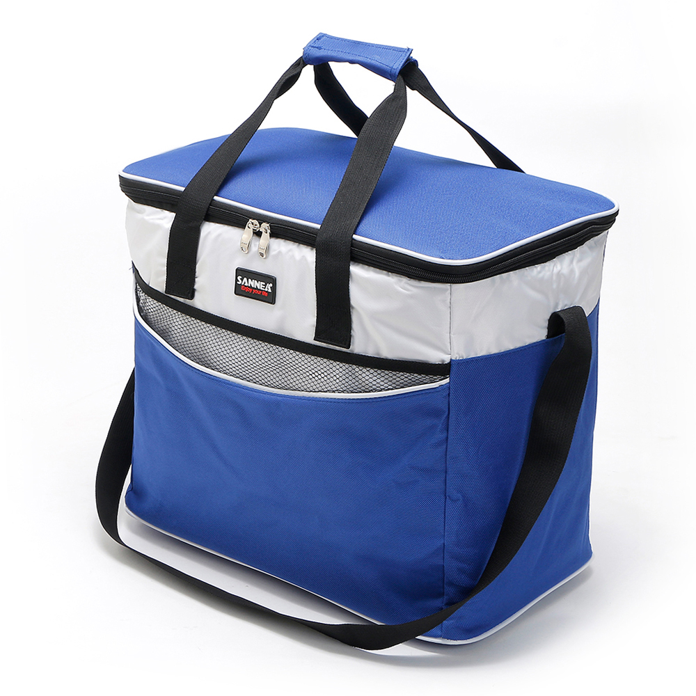 Image 2 - Lixada 34L Outdoor Insulated Bag Cooler Lunch Tote Thermal Bento Bag Camping BBQ Picnic Food Freshness Insulated Cooler Bag-in Picnic Bags from Sports & Entertainment