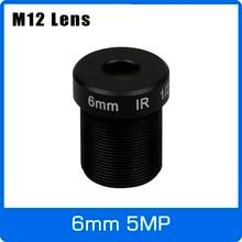 6mm Cctv-Lens Camera-Ip-Camera M12 for HD 4MP/5MP 5megapixel 1/2.5inch Fixed