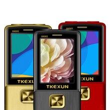 ロック解除フリップ 1 キーデュアルトーチ 1 キー FM Bluetooth SOS 短縮ダイヤル Whatsapp 老人シニア金属携帯電話 p210
