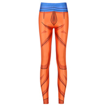 New Arrival 3752 Sexy Girl Cartoon Dragon Ball Super Cosplay Printed Elastic Fitness Polyester Workout Women Leggings Pants