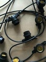 European Power Cord E27 Lamp Line European Standard Power Cord String Lights