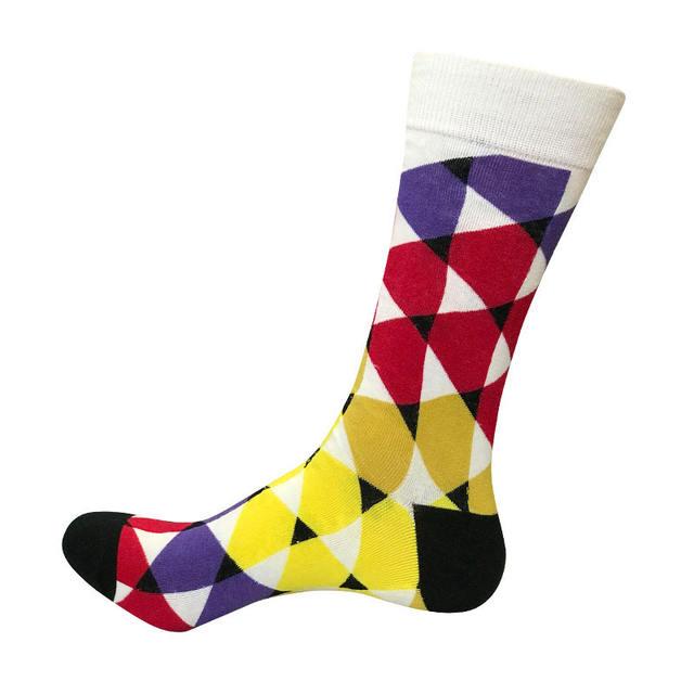 Socks men's quality long cotton socks fruit series happy socks Harajuku men's factory direct support wholesale and retail