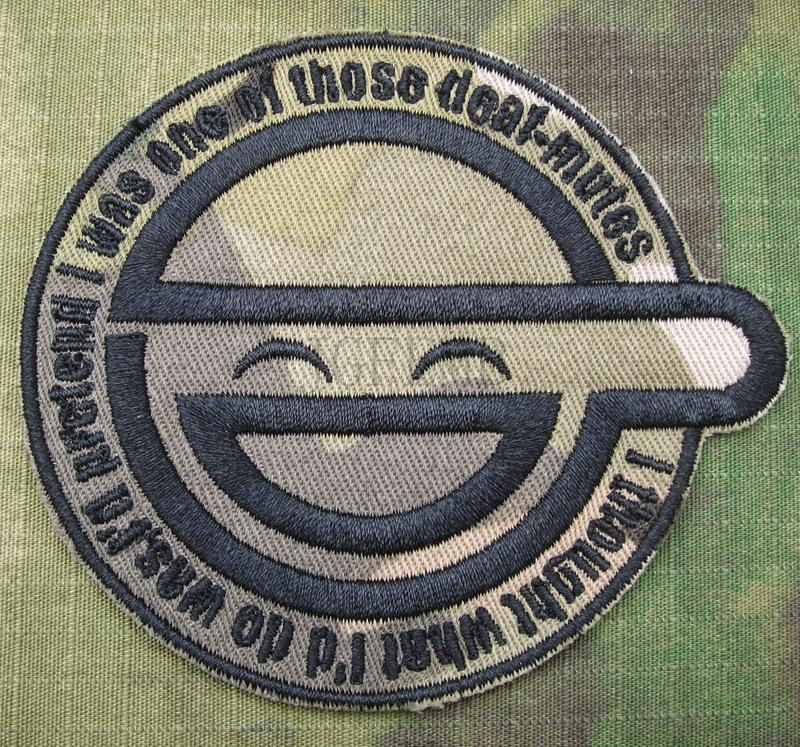 Ghost In Shell Stand Alone Complex The Laughing Man Embroidery Patch Innovatis Suisse Ch