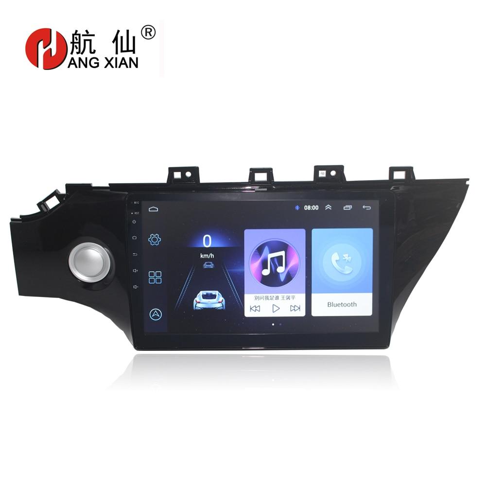HANG XIAN 10.1 Quadcore Android 6.0.1 Car radio for 2017 KIA K2 car dvd player GPS navigation car multimedia