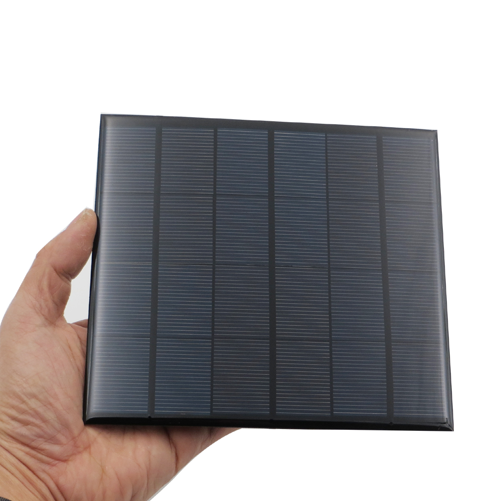 b2f8bf40d0eb5 6 V 3.5 W Sunpower Panel Słoneczny Przenośny Mini DIY Moduł Panelu Lampy  Zabawki Telefonu Ładowarka Baterii Dla Systemu Słonecznego Ogniwa słoneczne