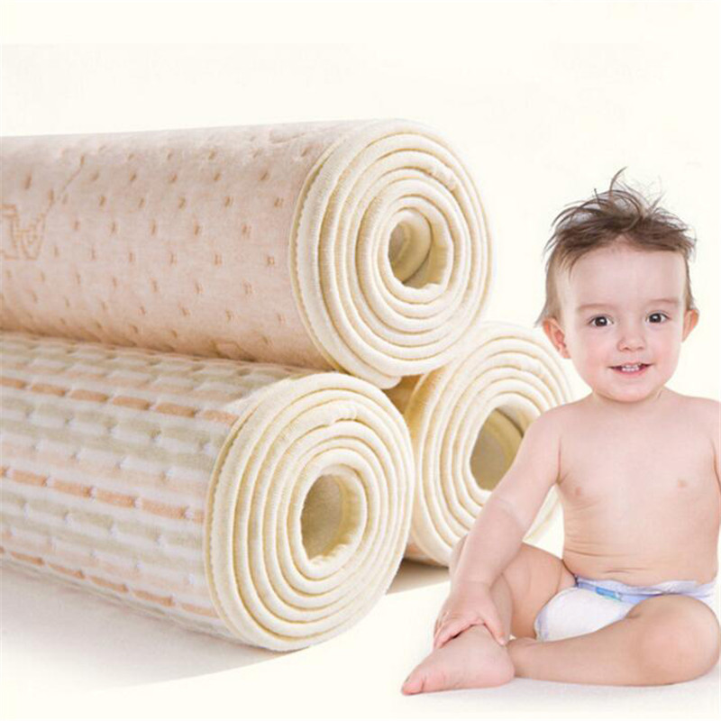 Organic Colored Cotton Waterproof EVA Layer Baby Changing Mat Cover Baby Waterproof Changing Urine Pad Bed Sheets Diapers