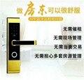 Bluetooth/Пароль/температурный Пароль/идентификационная карта/разблокировка дверей контроль доступа Замок для отеля